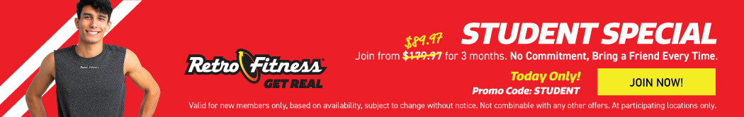 Student Special - Join Today with No Commitment!